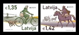 Latvia 2020 Mih. 1102/03 Europa. Ancient Postal Routes MNH ** - Lettland
