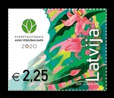 Latvia 2020 Mih. 1105 International Year Of Plant Health MNH ** - Lettland