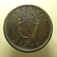 Ireland 1 Penny 1805 - Ierland