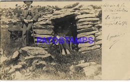 134372 SPAIN ESPAÑA CAMPRODON GIRONA CUEVA YEAR 1916 POSTAL POSTCARD - Spain