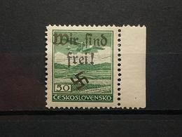 Sudetenland Reichenberg-Maffersdorf Mi-Nr.36 Postfrisch MNH Rare - Sudètes