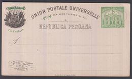 1897. PERU. UNION POSTALE UNIVERSELLE REPUBLICA PERUANA Un Centavo / 5 CINCO CENTAVOS... () - JF362048 - Peru
