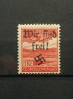 Sudetenland Reichenberg-Maffersdorf Mi-Nr.37 Postfrisch MNH Rare - Sudètes