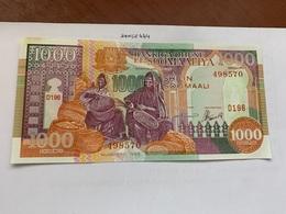 Somalia 1000 Shillings Uncirc. Banknote 1996 - Somalia