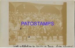 134380 SPAIN ESPAÑA LINEA CORRIDA DE TOROS TRIBUNA YEAR 1911 POSTAL POSTCARD - Spain