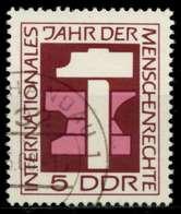 DDR 1968 Nr 1368 Gestempelt X92E77E - Gebraucht