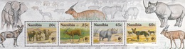 Namibia - Mammals Strip Of 4 1993 UMM - Namibia (1990- ...)