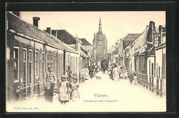 AK Vianen, Voorstraat Met Lekpoort - Non Classés