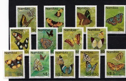 Namibia - Butterflies 1993 UMM - Namibia (1990- ...)