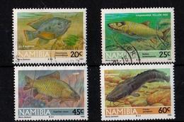 Namibia - Fresh Water Fish 1992 Used - Namibia (1990- ...)