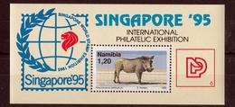 Namibia - Singapore Exhibition 1995 UMM - Namibia (1990- ...)