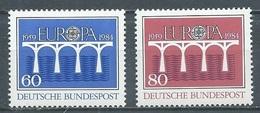 Allemagne YT N°1042/1043 (Mi N°1210/1211) Europa 1984 Neuf/charnière * - Europa-CEPT