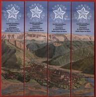 -026-  SOCIETE SCIENTIFIQUE ET LITTERAIRE Ed. : VILLE DE DIGNE LES BAINS -  MARQUE PAGE PUZZLE - Bookmarks