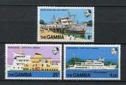 Gambia1978. Yvert 376-78 ** MNH. - Gambia (1965-...)