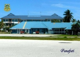 Tuvalu Funafuti International Airport New Postcard Flughafen AK - Tuvalu