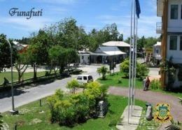 Tuvalu Funafuti Street Scene New Postcard - Tuvalu