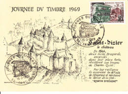 Transport Des Facteurs Paris 1890 Saint Dizier - Stamp Day