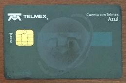 MEXIQUE TELMEX BANQUE INBURSA CARTE DE PAIEMENT TÉLÉCARTE PHONECARD - Mexico