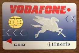 FRANCE ITINERIS VODAFONE CARTE SIM NEUVE PHONE CARD QUE POUR LA COLLECTION - Nachladekarten (Handy/SIM)