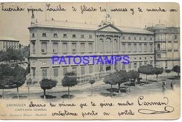 134400 SPAIN ESPAÑA ZARAGOZA ARAGON CAPITANIA GENERAL BREAK POSTAL POSTCARD - España