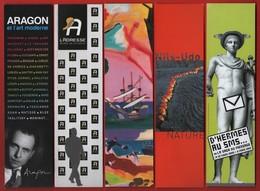 -033-  L'ADRESSE MUSEE DE LA POSTE * ART * - LOT 5  MARQUE PAGE - Bookmarks