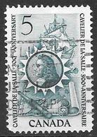 1966 5 Cents La Salle, Used - 1952-.... Règne D'Elizabeth II