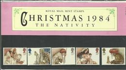 GB 1984 CHRISTMAS SET PRESENTATION PACK MNH - 1952-.... (Elisabetta II)
