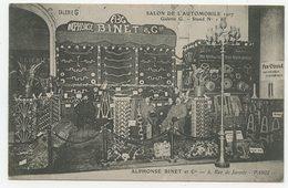 Automobile Salon De L'automobile 1907 Galerie G Alphonse Binet Rue De Jarente à Paris - Exhibitions