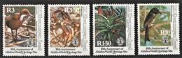 1992 Zil Elwannyen Sesel 10th Anniv Aldabra World Heritage Site: Rail, Coconut Crab, Aloe, Drongo Set (** / MNH / UMM) - Otros