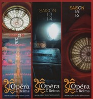 -039-  OPERA DE REIMS - LOT 3  MARQUE PAGE - Bookmarks