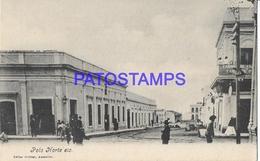 134416 PARAGUAY POLO NORTE VISTA DE LA CALLE POSTAL POSTCARD - Paraguay