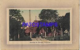 134421 PARAGUAY TUYUCUA FABRICA DE CERVEZA BEER POSTAL POSTCARD - Paraguay