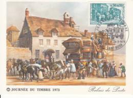Relais De Poste Saint Dizier - Stamp Day