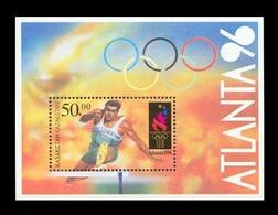 Kazakhstan 1996 Mih. 126 (Bl.5) Olympic Games In Atlanta MNH ** - Kazakhstan