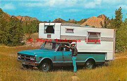252711-Advertising Postcard, GMC Camper Truck - Cartoline