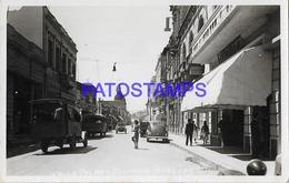 134426 PARAGUAY ASUNCION STREET CALLE PALMA & AUTO CAR POSTAL POSTCARD - Paraguay