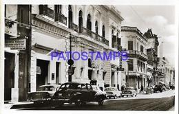 134427 PARAGUAY ASUNCION STREET CALLE PALMA & AUTOMOBILE CAR POSTAL POSTCARD - Paraguay