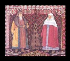 Kazakhstan 2001 Mih. 358/59 National Costumes MNH ** - Kazakhstan