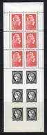 "2019 / 2ème FEUILLET Intérieur Du Carnet "" L'AFFRANCHISSEMENT-CERES 1849-MARIANNE L'ENGAGEE 2018 "" SUPERBE NEUF - Unused Stamps"