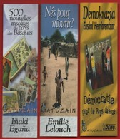 -048-  GATUZAIN Ed.  - LOT 3 MARQUE PAGE - Bookmarks