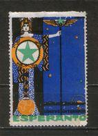 Old Stamp ESPERANTO - Label, Cinderella, Vignette, Poster Stamp - Esperanto