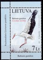 2013Lithuania1130Birds 5,50 € - Storks & Long-legged Wading Birds