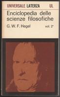 ENCICLOPEDIA DELLE SCIENZE FILOSOFICHE - Histoire, Philosophie Et Géographie