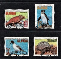 Ecuador 1992 Galapagos Animals WWF Set Of 4 Used - Ecuador
