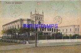 134437 PARAGUAY ASUNCION PALACIO DE GOBIERNO CIRCULATED TO ARGENTINA POSTAL POSTCARD - Paraguay