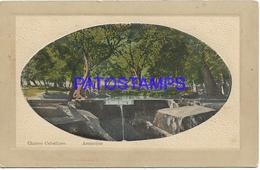 134438 PARAGUAY ASUNCION CHORRO CABALLERO CIRCULATED TO ARGENTINA POSTAL POSTCARD - Paraguay