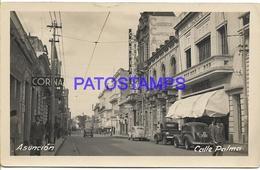 134443 PARAGUAY ASUNCION STREET CALLE PALMA PHOTO NO POSTAL POSTCARD - Paraguay