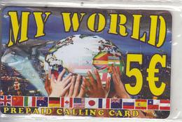 GREECE - My World Prepaid Card 5 Euro, Mint - Griekenland