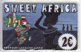 GREECE - Sweet Africa Prepaid Card 2 Euro, Mint - Griekenland