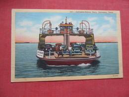 Galveston > Bolivar Ferry  Texas > Galveston > >  Ref 4109 - Galveston